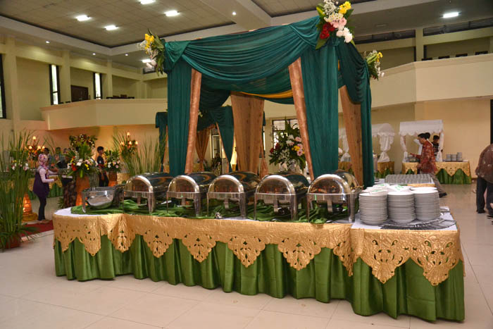Dekorasi Catering | Puspita Anggita Wedding Organizer